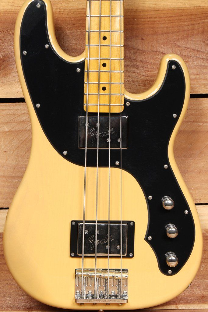 Fender Telecaster Bass Modern Player Butterscotch Blonde Tele Case 08279 Telecaster Bass Fender Telecaster Telecaster