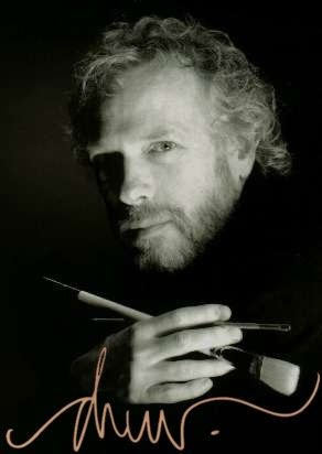 Drew Struzan the artist behind the posters of Star Wars, Indiana Jones, Blade Runner, Harry Potter, Hook and many more.