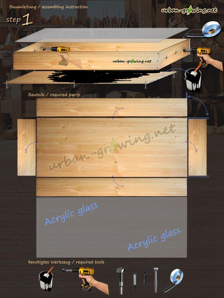 d rrschrank schritt 1 diy pinterest selbst bauen d rren und bauanleitung. Black Bedroom Furniture Sets. Home Design Ideas