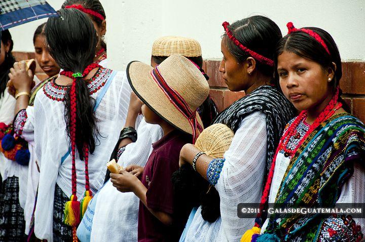 Mujeres de San Pedro Carchá