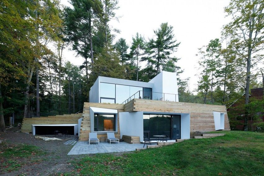 Taylor And Miller Architecture Designs A Unique Lake House In The Berkshires