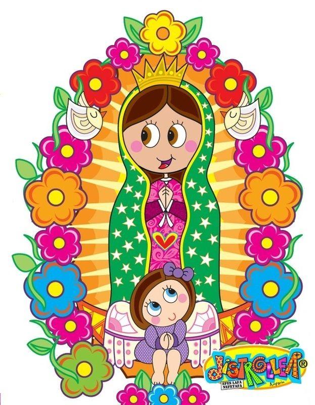 Ayuda Para Bautizo De Nina Virgencita De Guadalupe Caricatura Virgen De Guadalupe Animada Virgen Caricatura