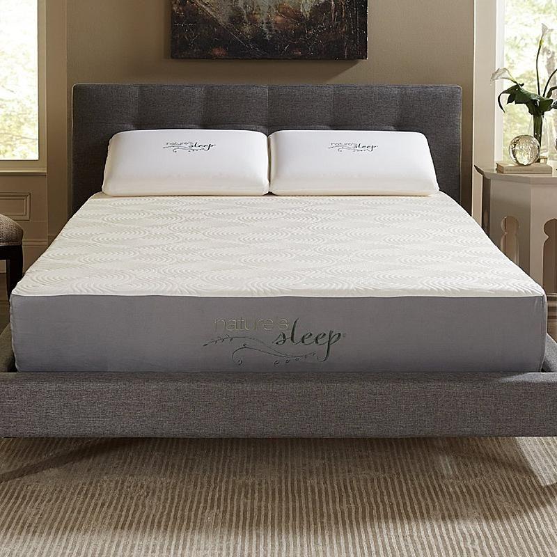 Nature S Sleep 10 Gel Memory Foam Mattress Queen Mattress Gel