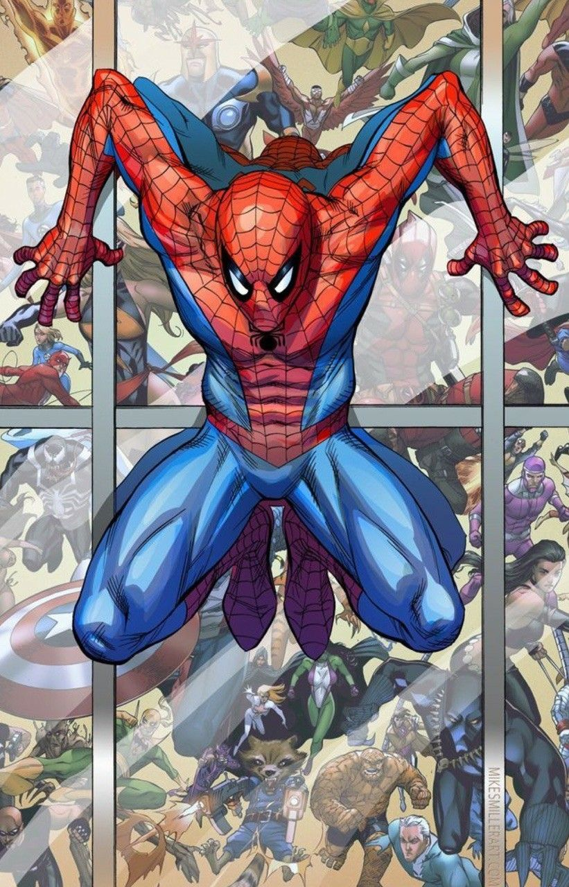 Spiderman cartoni animati fumetti marvel supereroi film di