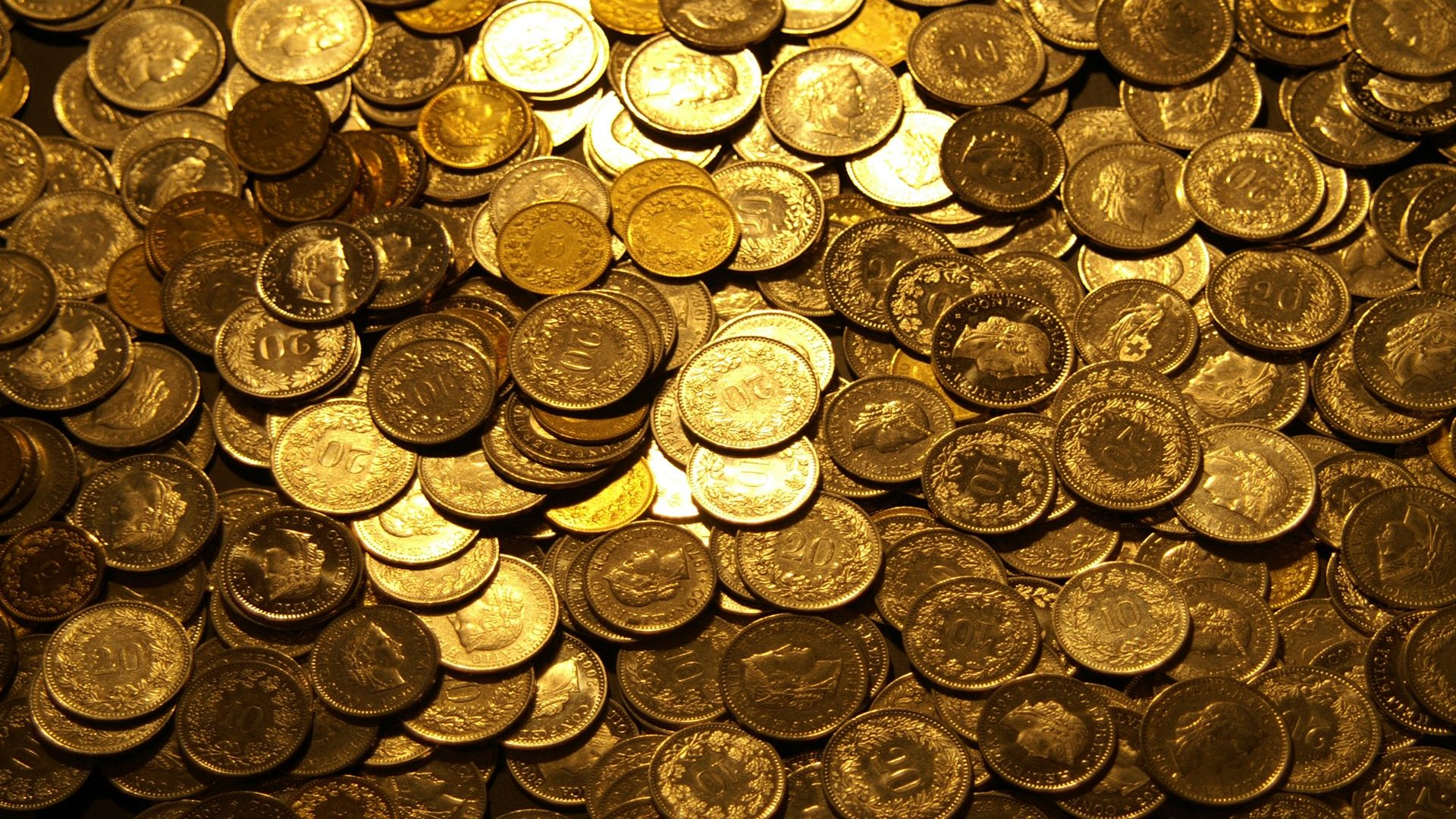 Coins High Quality New Desktop Wide Wallpaper In Widescreen