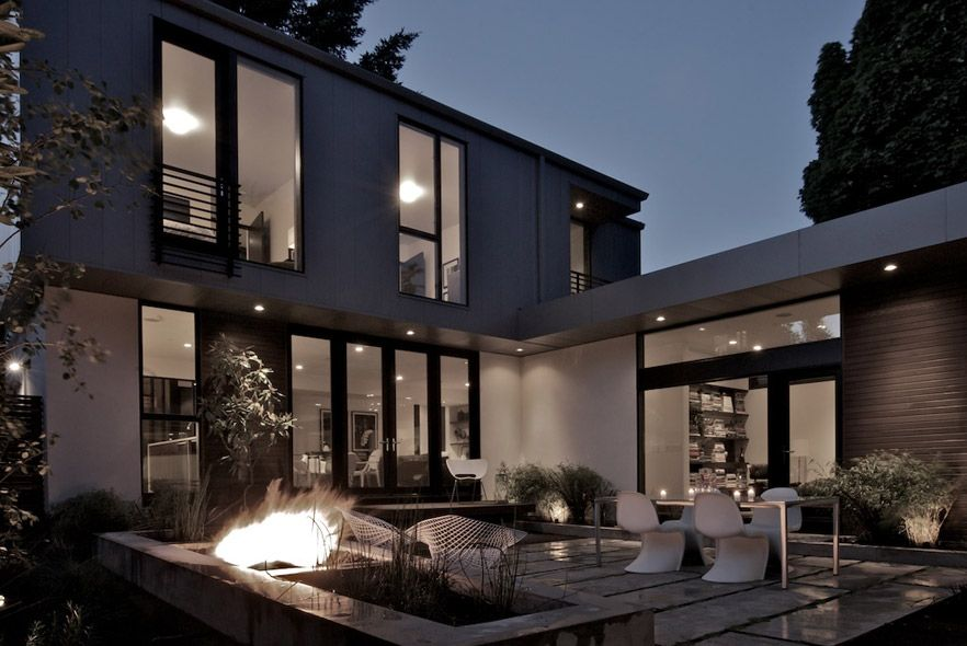 Did the Portland Modern Homes Tour this weekend, and this house was