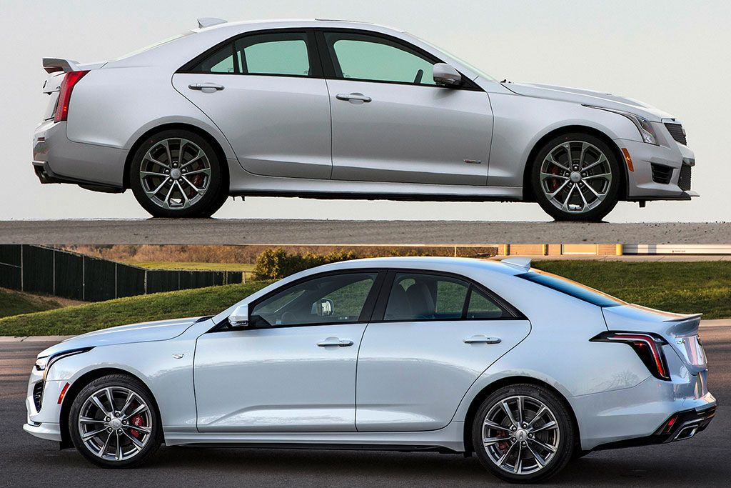 The all-new Cadillac CT4 replaces the outgoing Cadillac ATS as the brand's entry-level compact car. Let's take a look at how they compare.