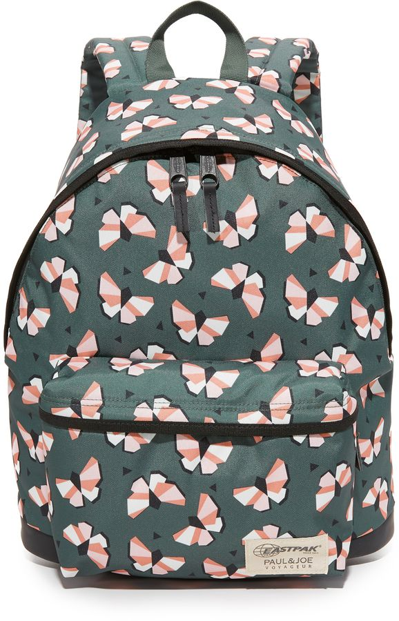 Paul Joe Sister X Eastpak Wyoming Backpack Backpack Bag Casual Travelbag Casualstyle Green Butterfly Con Immagini