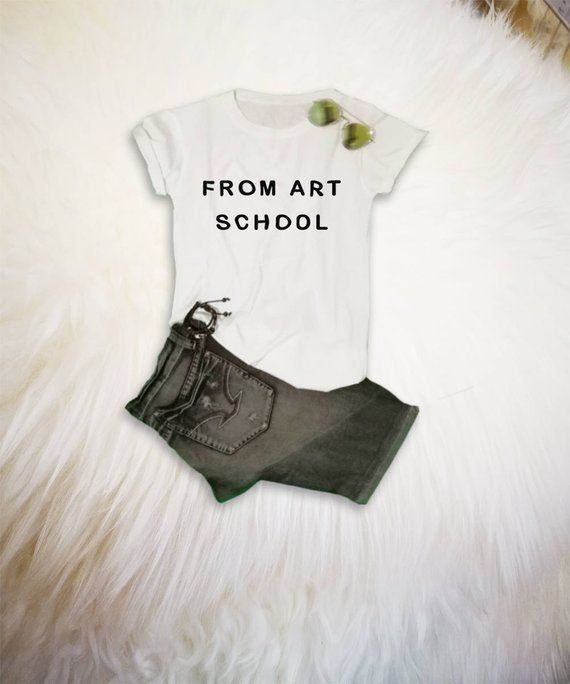b24abb2156 From art school Aesthetics Shirt Clothing Tumblr Style Shirts Pastel Grunge  Soft Grunge TShirt Funny