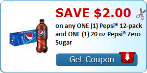 image about Pepsi Printable Coupons known as Confessions of a Frugal Brain: Preserve $2.00 upon Pepsi with This