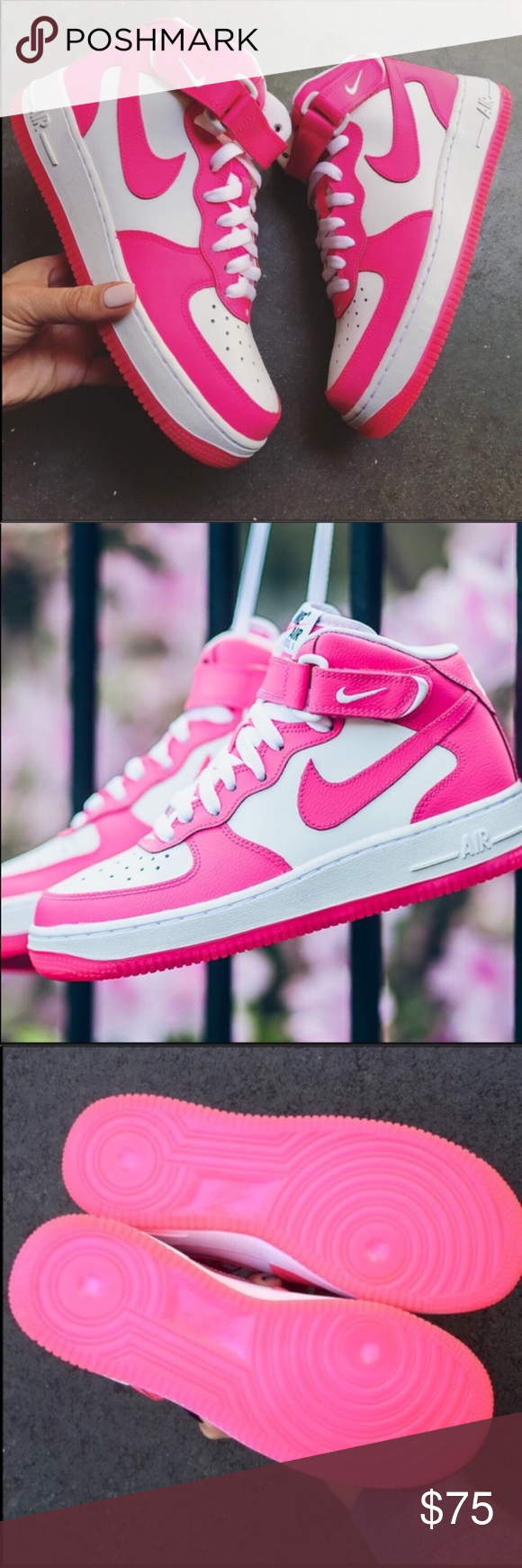 best service 9240e f38a8 NWB 🎀 NIKE AIR FORCE 1 MID New never worn NIKE AIR FORCE ONE MID 😍