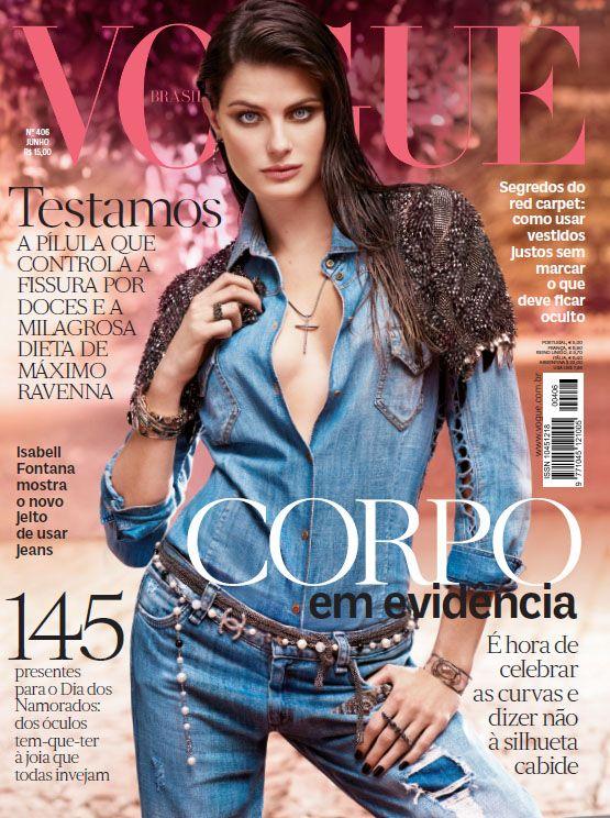 Pois é, essa é a capa Brasileira da edição corpo da Vogue