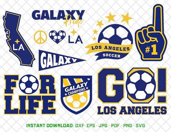 Los Angeles Galaxy 6 Team Logo Magnet