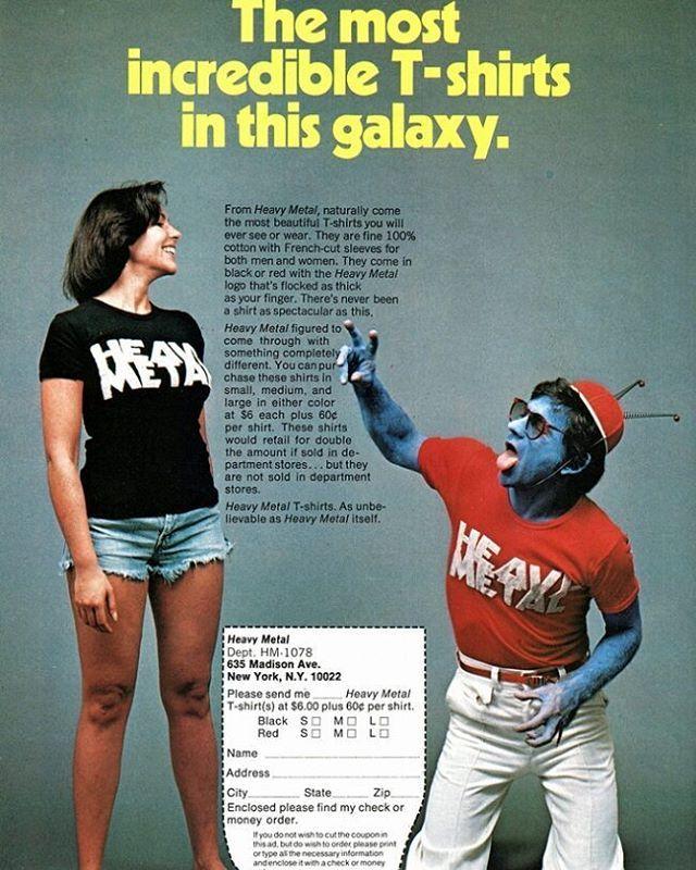 fe976af03 HeavyMetalMagazine shirt ad.