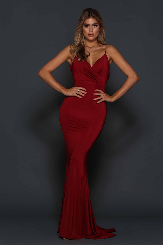 Tess dress cherries casablanca and fashion beauty