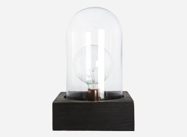 House Doctor Lampen : House doctor ga0600 lampe bell schwarz 23x23 cm h.: 8 cm