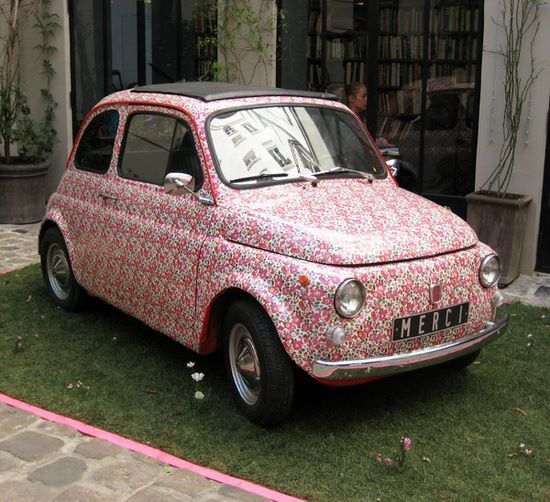 Fiat 500, so cute!