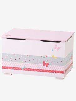 Coffre de rangement Love pink - vertbaudet enfant | Future chambre ...