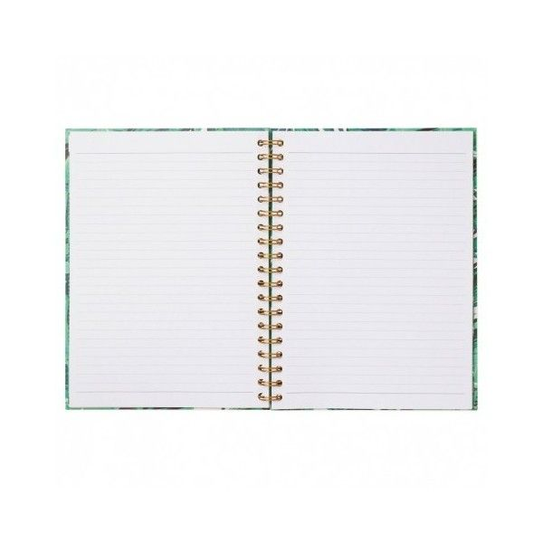 Let's Squawk large slogan notebook ($7.85) ❤ liked on Polyvore featuring home, home decor and stationery