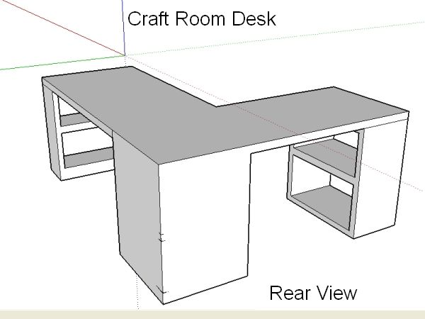 Diy Craft Room Table: Hoarder's Welcome Or Storage
