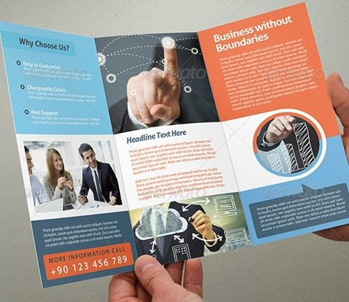 Tri fold brochure template free download Here are some of best – Tri Fold Examples
