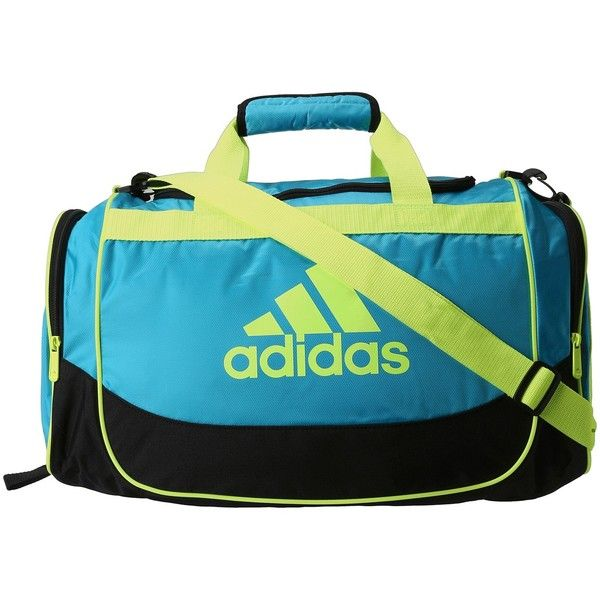 d5a98c3fc4 adidas Defender Duffel Small ( 27) ❤ liked on Polyvore