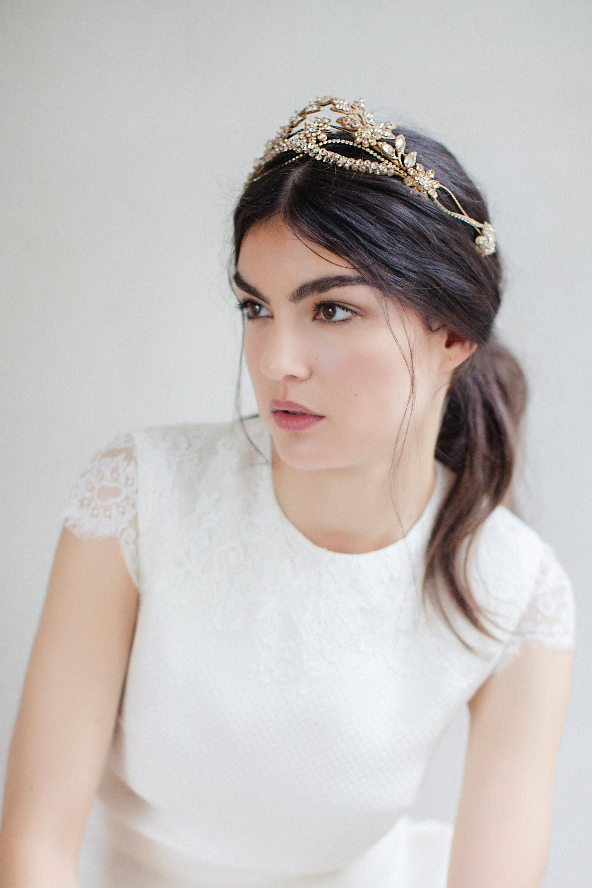 18 Spectacular Statement Bridal Headpieces for 2017 | Headpieces ...