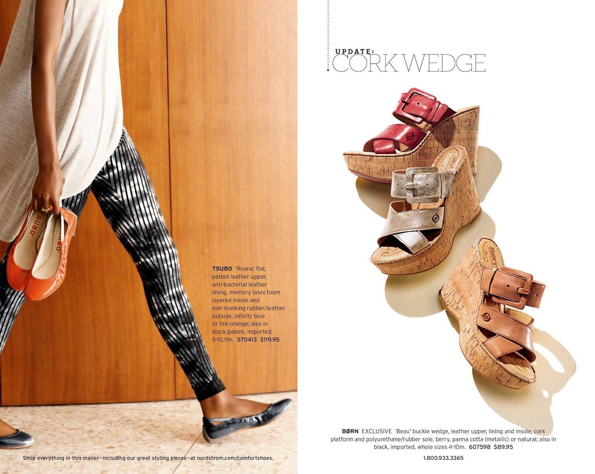 size 40 3a60c 324c1 Nordstrom April 2013 Comfort Shoes Catalog | BonTon in 2019 ...