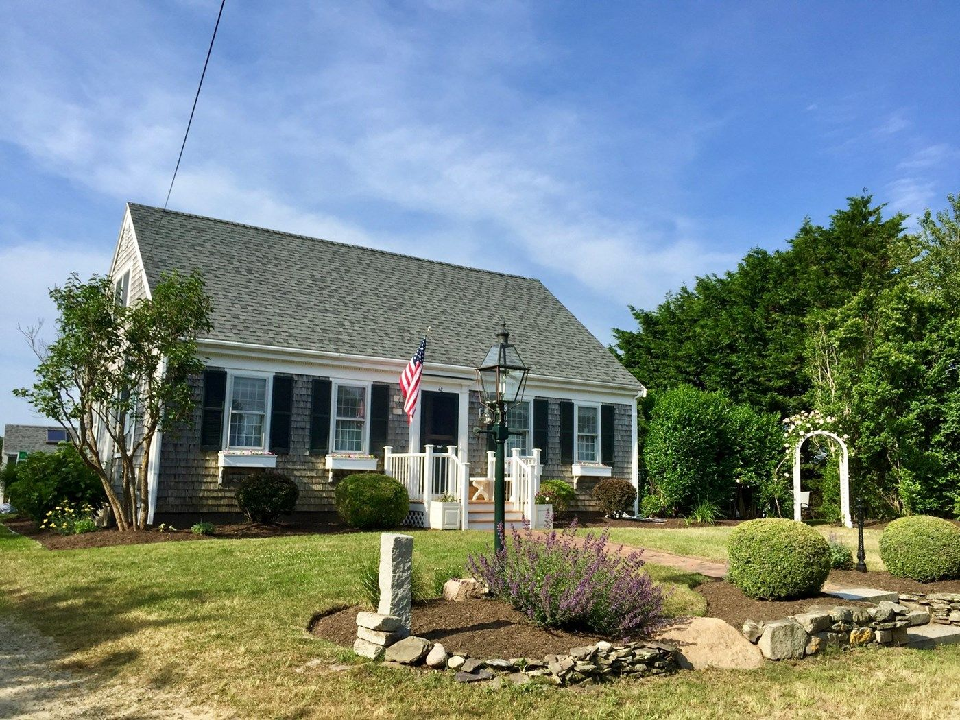 Front of the house from madaket road nantucket town