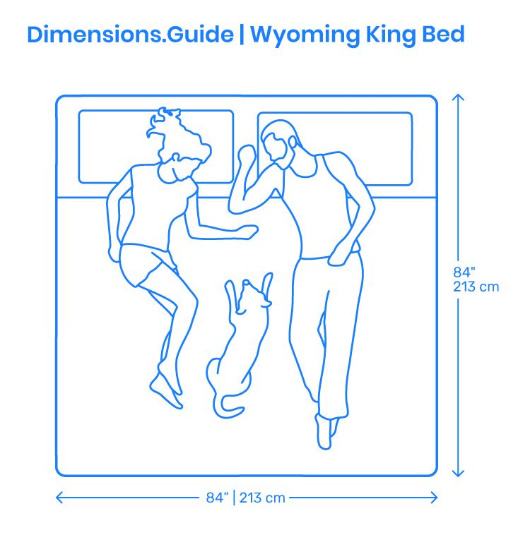 The Wyoming King Bed Falls Between The Alaskan King Bed And The