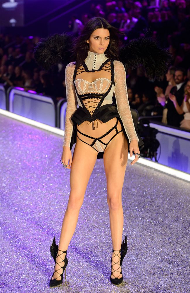 a919b6df92f8 The Kardashians support Kendall Jenner at Victoria's Secret Fashion Show