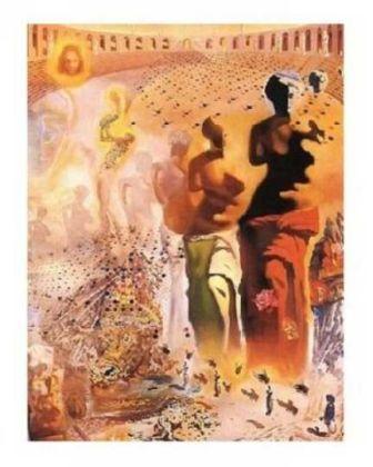 Torero Halucinogene Reprodukcja For The Walls Salvador