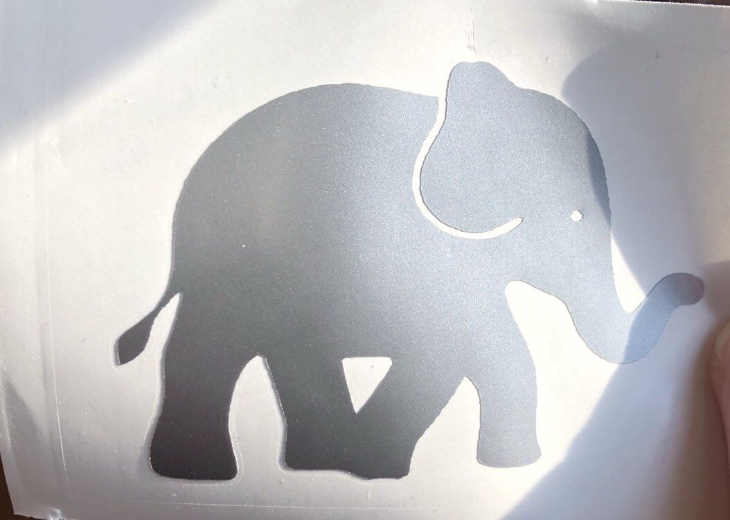 Elephant Decal Elephant Sticker Decals For Cups Vinyl Etsy Elephant Decal Elephant Stickers Vinyl Stickers Laptop [ 750 x 1054 Pixel ]