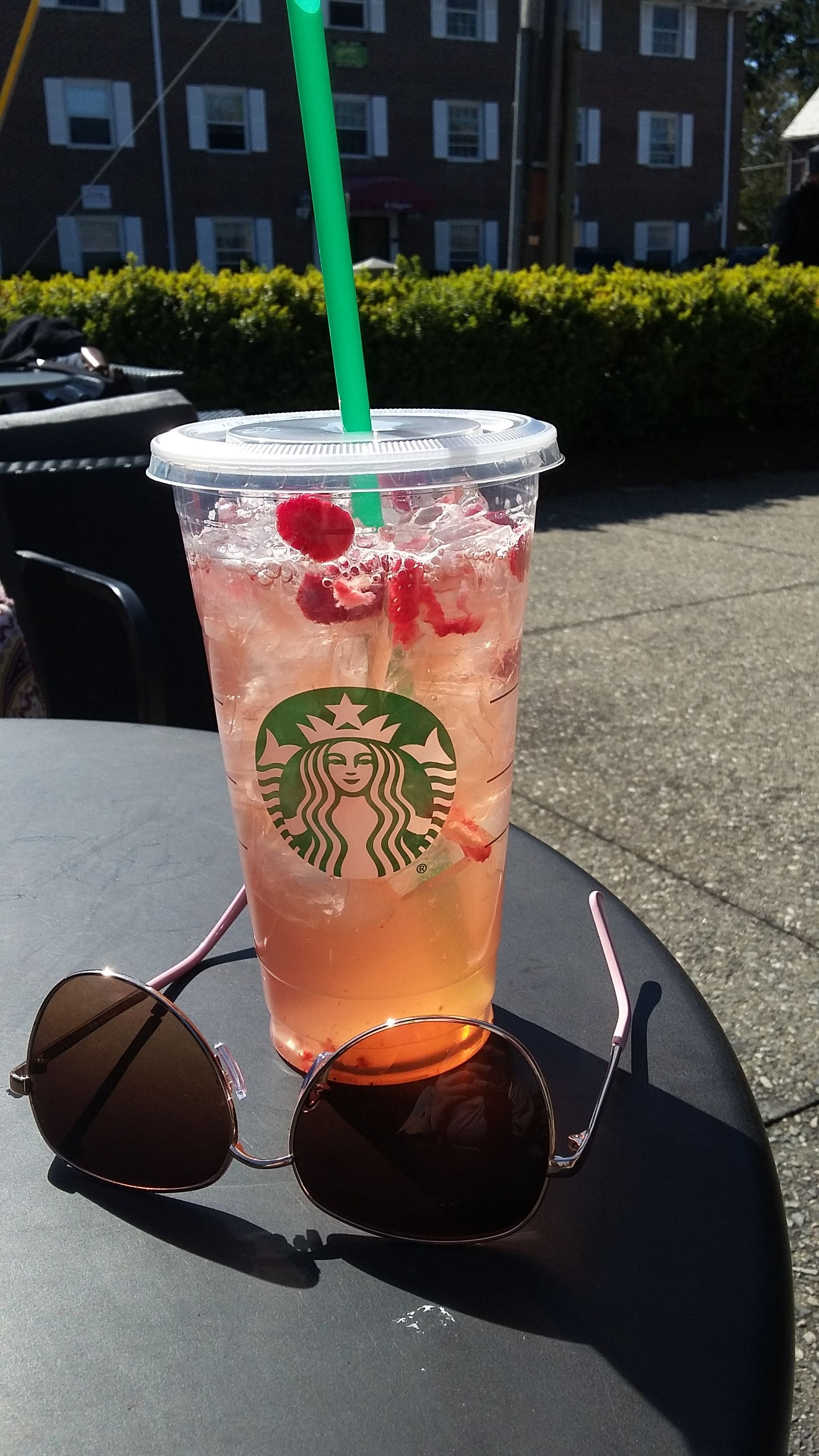 Very Berry Hibiscus Refresher With Strawberries Instead Of
