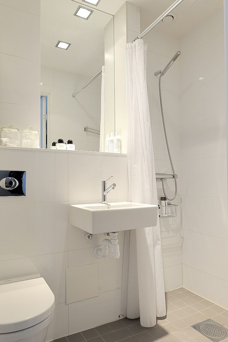 small bathrooms and colour schemes - Google Search