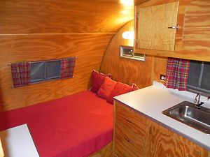 1955 Comet Vintage Travel Trailer Camper Retro Restomod Aluminum In Rvs Campers Ebay Motors Nautical Interior Vintage Travel Trailers Vintage Camper