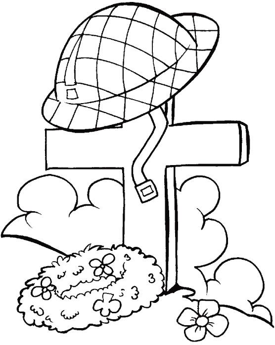 Hats Down To Remember You My Dear Coloring Pages Fun For Max - Poppies to remember coloring page