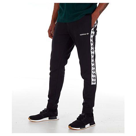 1683ac2d131c ADIDAS ORIGINALS MEN'S ORIGINALS TAPE FLEECE TRACK PANTS. #adidasoriginals  #cloth