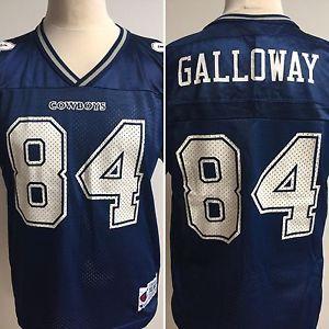 807d2a04 NFL DALLAS COWBOYS American Football Shirt Jersey #84 GALLOWAY Size ...