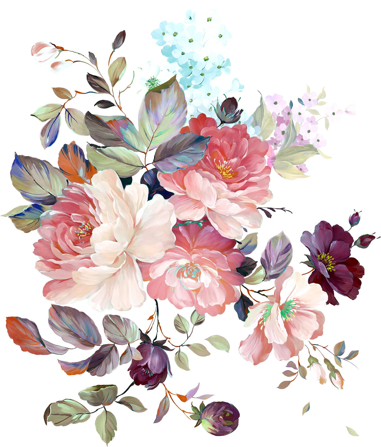 Pin By Harish On A Flower Art Flower Painting Watercolor Flowers