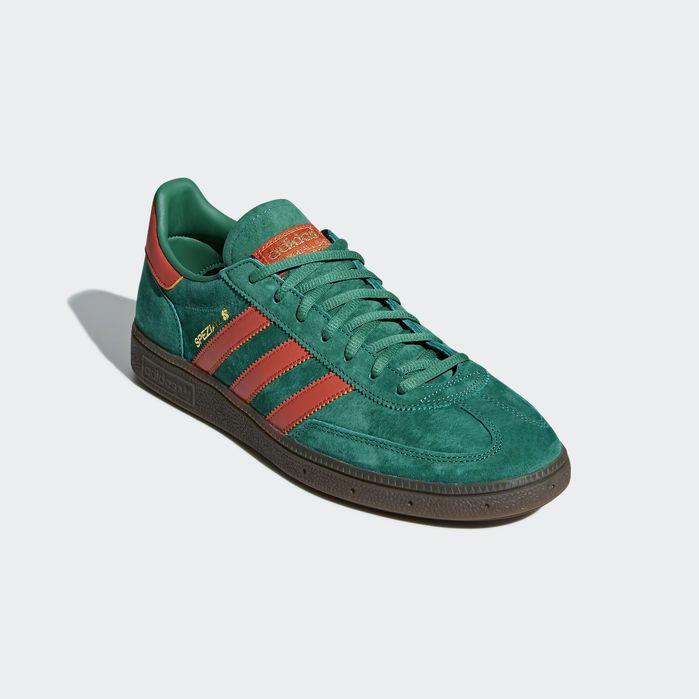 Handball Spezial Shoes Bold Green 11.5 Mens   Shoes