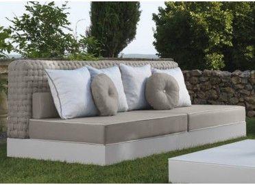 canap d 39 ext rieur jardin terrasse outdoor talenti en vente chez www ksl living fr mobilier. Black Bedroom Furniture Sets. Home Design Ideas