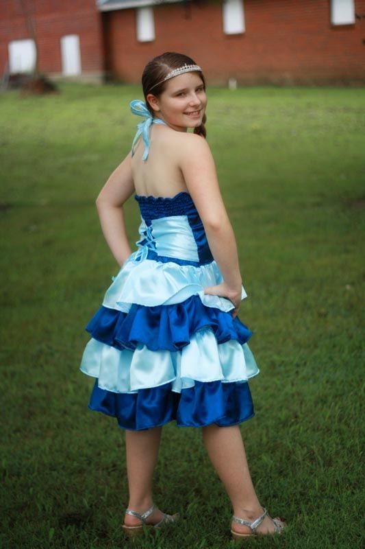 primroses tween ruffled corset princess dress pdf pattern