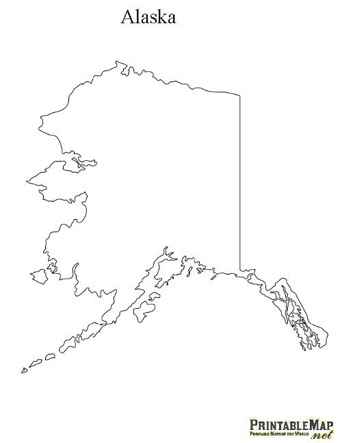 photo relating to Printable Maps of Alaska known as Printable Map of Alaska Notes Alaska, Place map