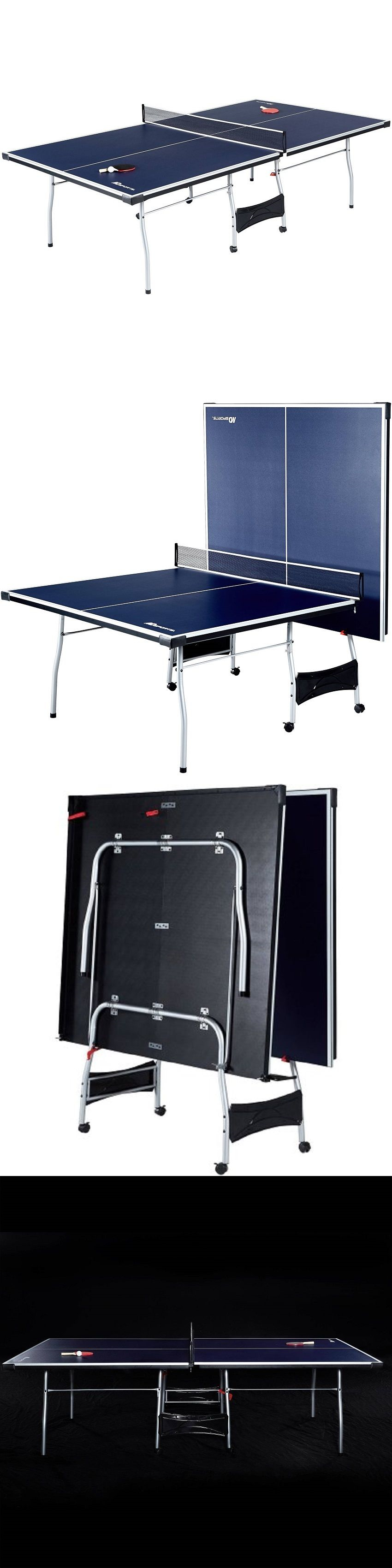 Tables 97075: Md Sports 4 Piece Table Tennis Table BUY IT NOW ONLY: