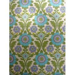 D coration murale vintage des ann es 60 70 motif fleuri amo los estampados 2 papier peint - Deco chambre annee 60 ...
