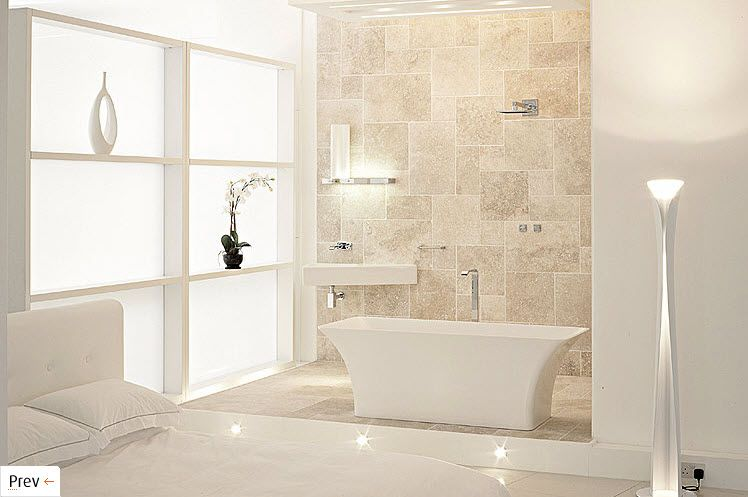 Charming Beige And White Bathroom Ideas Part - 1: Decor With Beige And White | ... Of 9 In The Series Bathroom Design