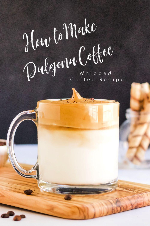 Dalgona Coffee Recipe How To Make Dalgona Coffee