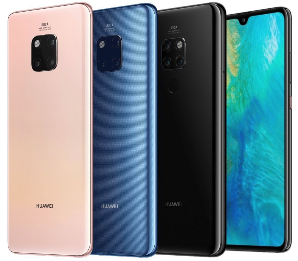 Details About Huawei Mate 20 Pro Lya L29 128gb Factory Unlocked 6 39 Black Green Twilight 画像あり