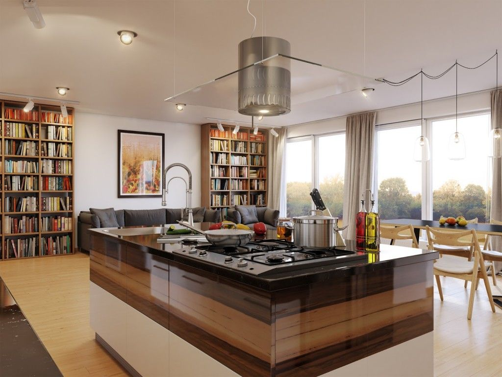 Kitchen islands designs  what about a lacquered kitchen island for design inspiration